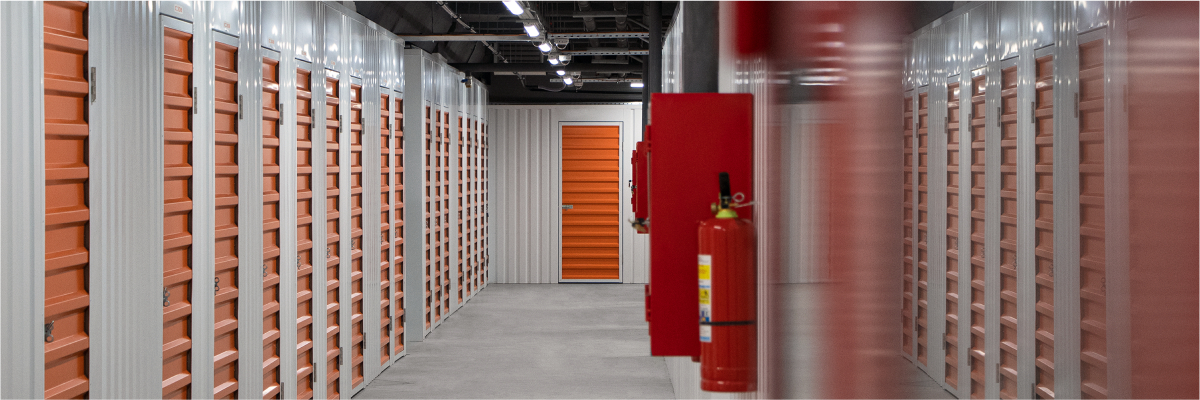 Система пожаротушения на складе